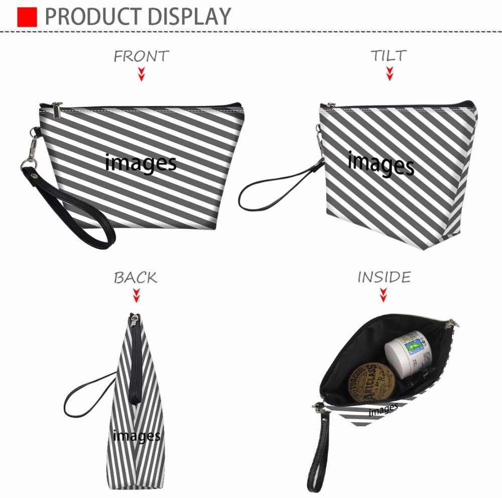 FORUDESIGNS набор для чистки путешествий сумка женские косметические шкатулки для макияжа медведь медсестры печать Neceser Mujer