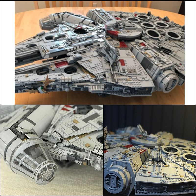 LEPIN 05132 8445 pcs Destroyer de Ultimate Collector Série Star Wars Blocs de Construction Briques Jouets Pour Les enfants cadeaux legoINGly 75192