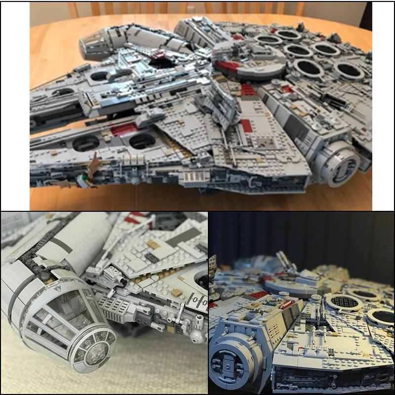 LEPIN 05132 8445 pz Ultimate collector Destroyer Star Serie Wars Building Blocks Giocattoli Dei Mattoni Per i regali Per bambini legoINGly 75192