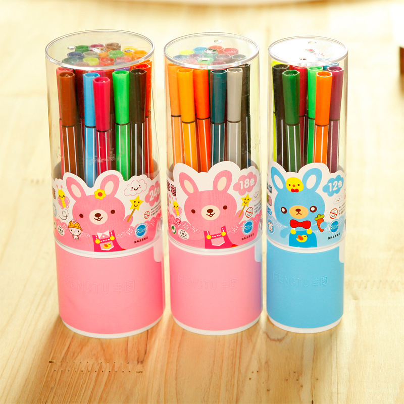 Multi color water wash highlight painting pen painting eco for Eco friendly colours for painting