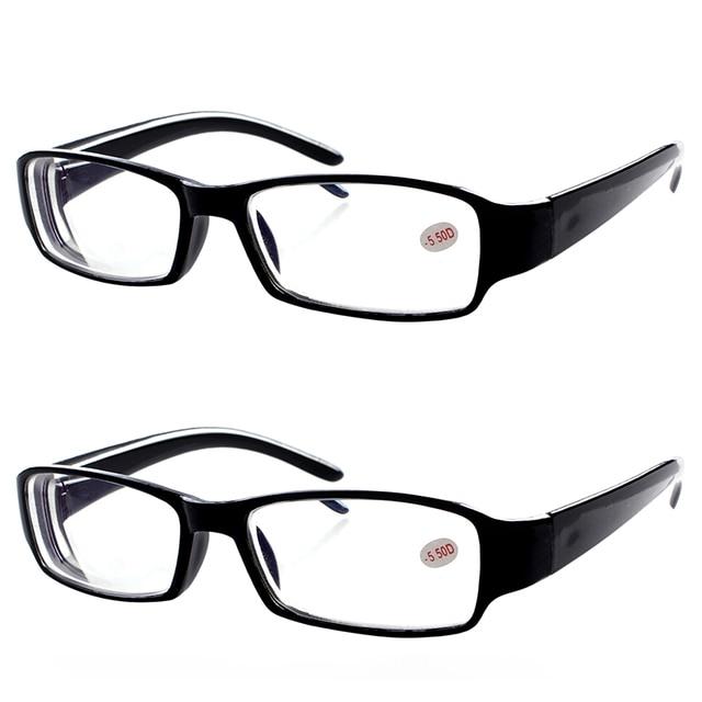 2x uso diario 1.0 a 6.0 miopes Gafas para mujer para hombre gafas ...