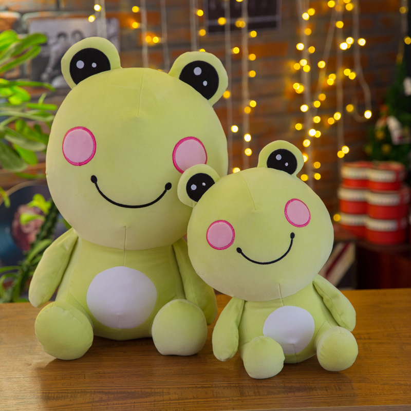 35cm The Frog Cute Frog Soft Plush Toys Stuffed Animals Children Birthday Present For Girls Baby