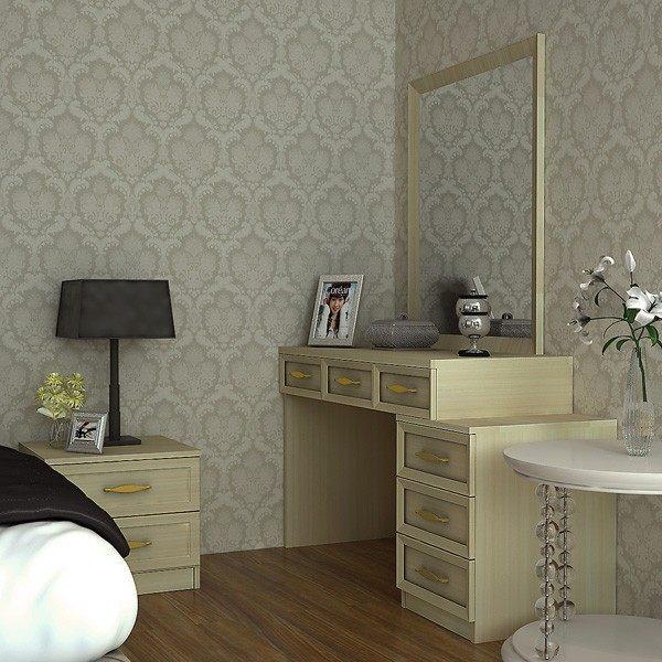 Indonesia Project Custom Design Wooden Bedroom Cabinets (OP15 Q001)