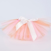 cbf682f70 Nuevo Bebé niñas rosa Marfil oro Tutu falda bebé traje de fiesta de  cumpleaños infantil tul tutú pastel smash Newborn-5T 6 T