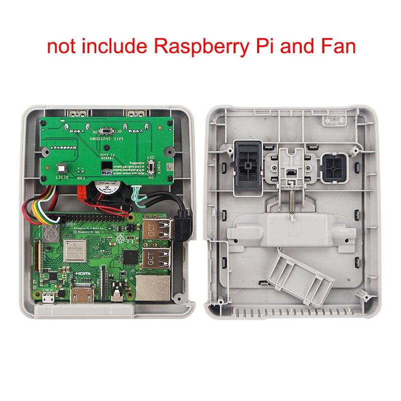 Image 5 - Чехол для CASE J Retroflag SUPERPi с картриджем   геймпадом   sd  картой 32 ГБ   кабель HDMI   адаптер питания для Raspberry Pi 3 B   /3BАксессуары для демонстрационных стендов