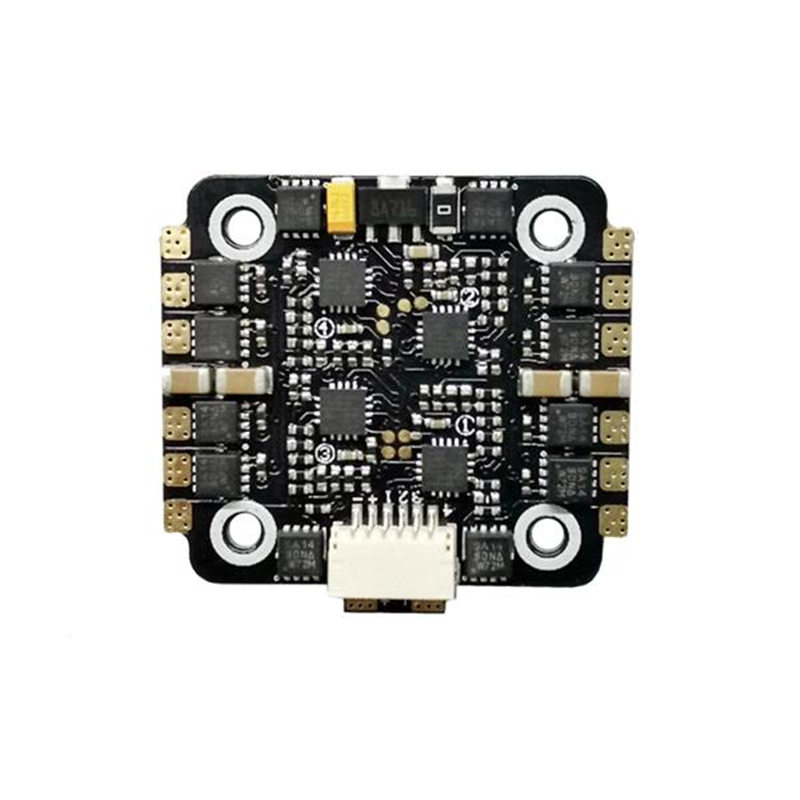 SPC Maker 15A 4in1 BLHeli_S DSHOT 2-4S ESC for RC Multirotor FPV Racing Drone Frame Motor Spare Part Accessories spc for excel