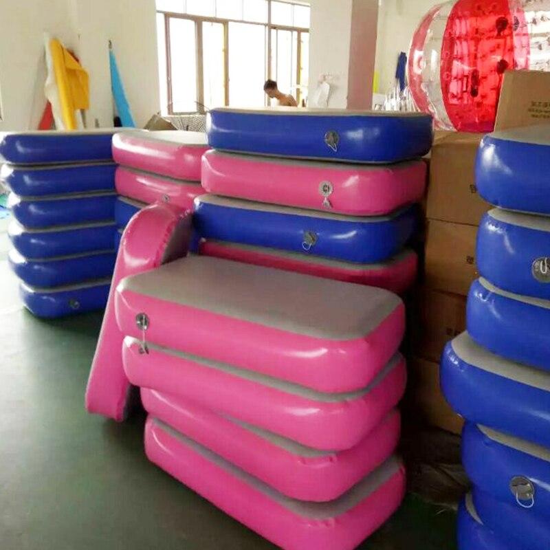 Piste d'air maison extérieure intérieure gymnastique culbuteur tapis gonflable Air culbuteur piste pour Gym enfants
