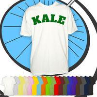 Mens Kale University T Shirt Vegetarian & Vegan Lifestyle Shirt Meat free Tshirt free shipping cheap tee Fashion Style Men Tee