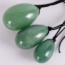Зеленый авантюрин yoni натуральный кристаллический камень для