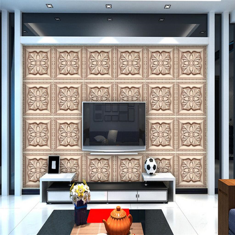 Us 885 41 Offbeibehang Besar Kustom Wallpaper Dinding Mural Jade Parket Latar Belakang Dinding Ruang Tamu Kamar Tidur Papel De Parede Untuk