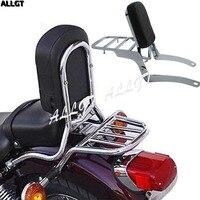 ALLGT 13 Sissy Bar Backrest Fit For Yamaha Virago XV 250 XV 125 1989 2011 1999 2000 2001 2002 2003 2004 2005 2006 2007 2008