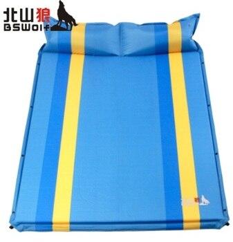 Upgrade pattern!Automatically inflatable cushion pad moisture widening thicker mattress double mattress camping pad