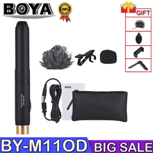 BOYA BY-M11OD BY-M11C Professional Lavalier Microphone System for Interview Film Theater Stage Audio Recording Mic for iPhone boya by lm10 by lm10 phone audio video recording lavalier condenser microphone for iphone 6 5 4s 4 sumsang galaxy 4 lg g3 xiaomi