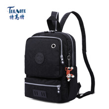 Fashion casual single shoulder and shoulders convertible nylon waterproof pack multifunctional slant span