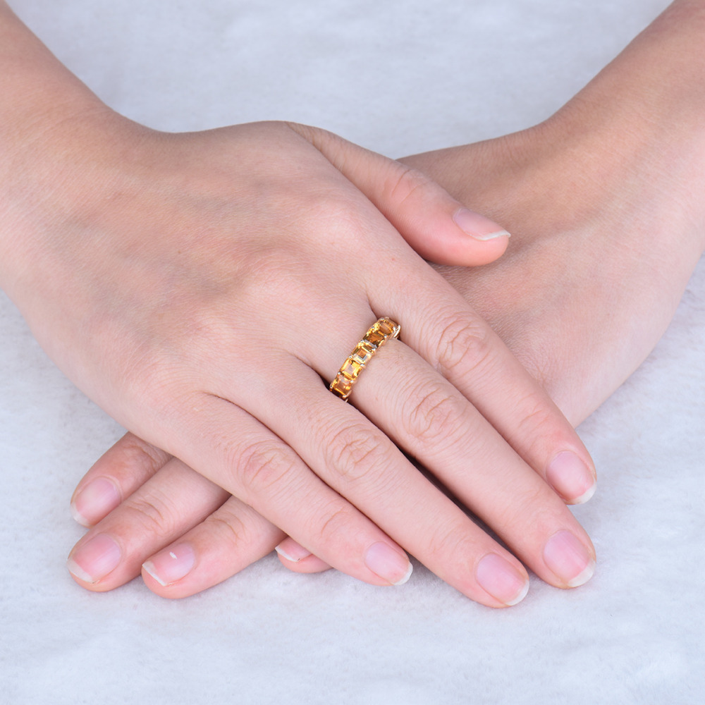 Brilliant Design Pretty Vintage Princess 4mm Solid 14k Yellow Gold ...