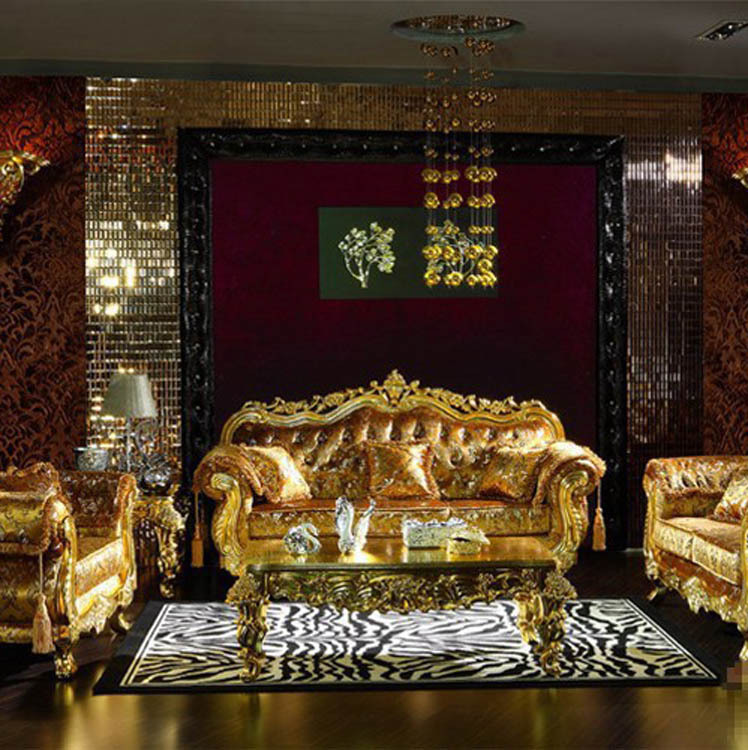 Luxury Living Room Furniture Sets Modern Colours 2018 Aliexpress Super Deal Big Sale French Style 3+2+1 ...