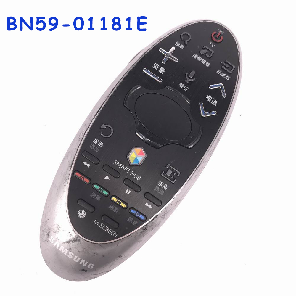 USED Original BN59-01181E Remote Control Smart Hub Audio Sound Touch Control For Samsung LED TV Chinese Version used original bn59 01242a smart voice remote control with scratches suit for samsung 4k uhd tv mu7009 mu8009 ks9090 ks9590ku6679