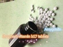 Натуральный витамин b17 VB17 таблетки экстракт Миндаля амигдалина порошок таблетки 1000 шт. Наиболее Эффективным бесплатная доставка