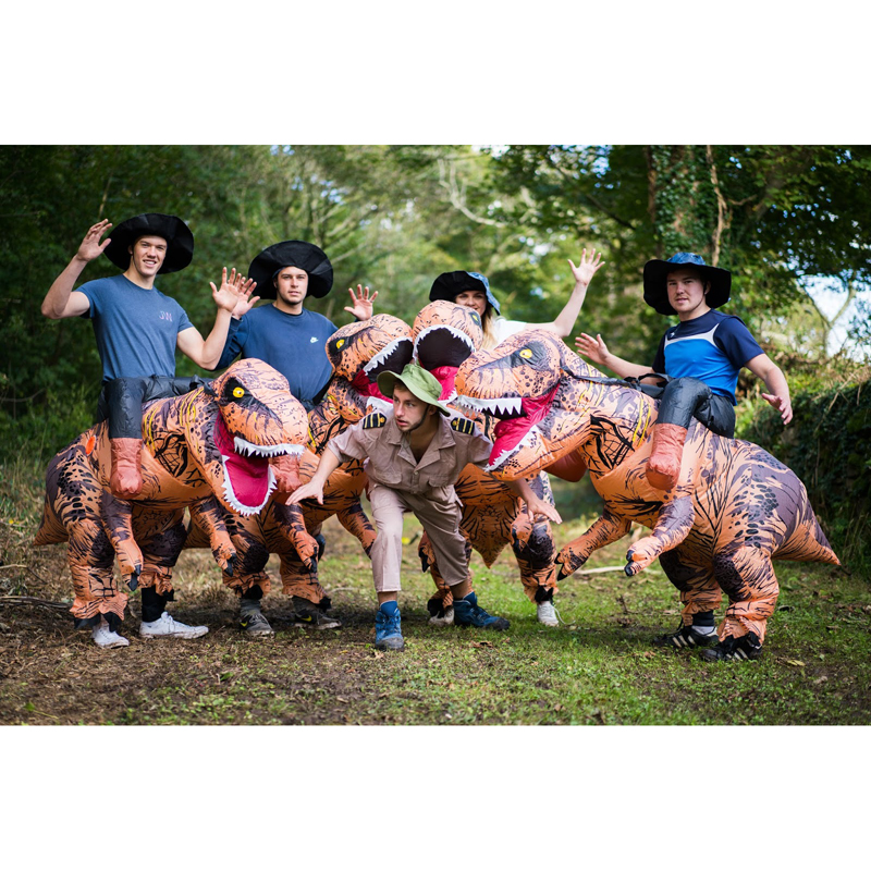 T-REX Inflatable Costume 3