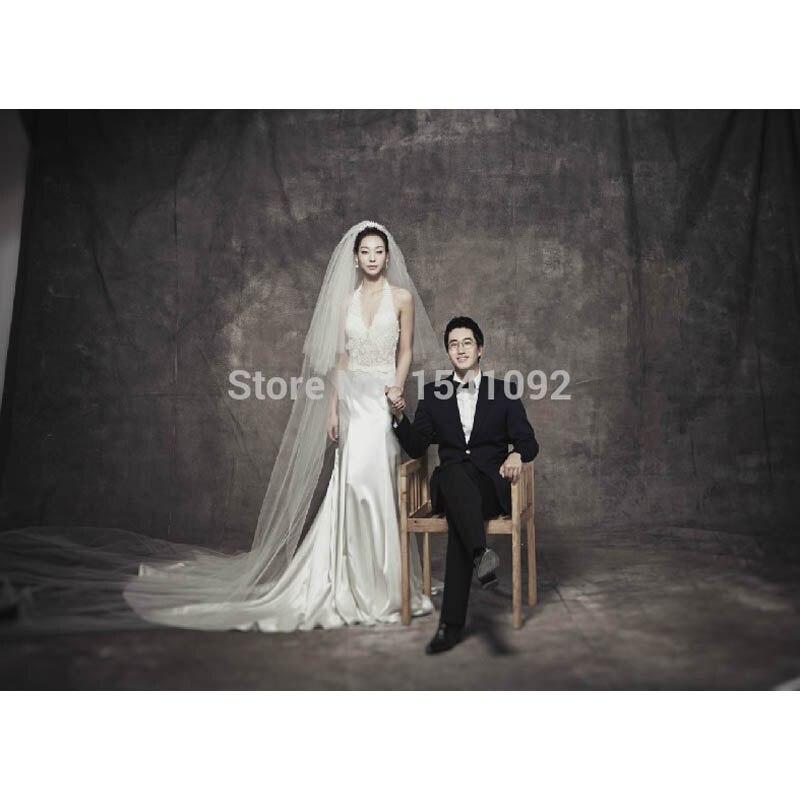 Pro Teints Muslin Toile de Fond fond photographique pour photo studio Personnalisé photographie décors 3X6 m
