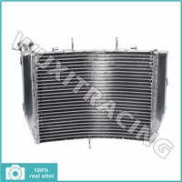 New Set Aluminium Core MX Offroad Motorcycle Radiator Cooler Cooling For KAWASAKI ZX6R ZX6 R ZX