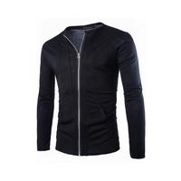 Korean Style High Quality Special Pocket Design Men Slim Fit Classic Hoodies 2015 New Arrival Casual