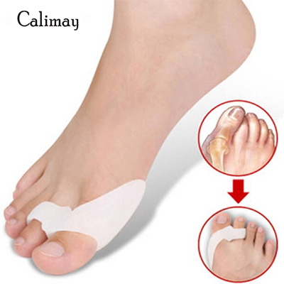 1 Pair Silicone Footful Foot Pain Relief Hallux Valgus Big Toe Gel Toe Separators Stretchers Bunion Splint Spacer Alignment