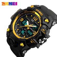 SKMEI Military Army Sports Watches Men Quartz Digital Watch Calendar Chronograph Male Waterproof Wristwatch Relogio Masculino skmei men sport watches clock military sports men s watch quartz watch new waterproof silicone male shock relogio masculino 1016