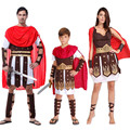 Woman Men Boy Childrens Kids King Ancient Rome Italy Warrior Soldier Masquerade Cosplay Costume Carnival Party Hallowmas
