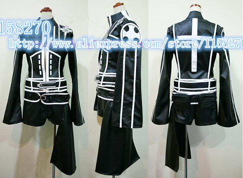 Free shipping Lenalee Lee Cosplay Costume from D.Gray-man