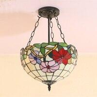 Свет анти Европейская американский стиль спальни подвесной светильник столовая прихожей лестница балкон сад подвесной светильник DF8