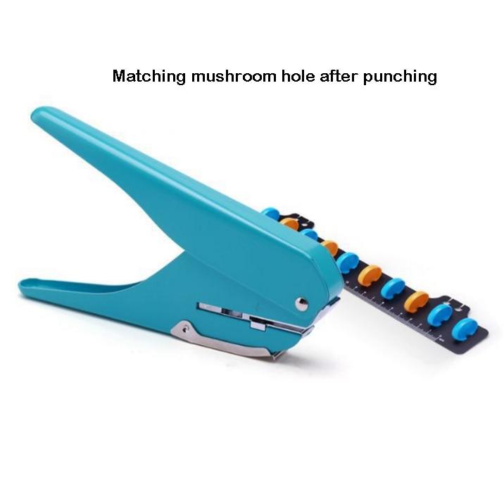 Mushroom Hole Notebook Puncher Scrapbooking Hole Puncher Manual Book