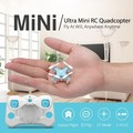 DHD D1 World's Smallest Pocket Hand Throw 2.4GHz 4CH RC Quadcopter 3D Flip Aircraft w/ Headless Mode RTF