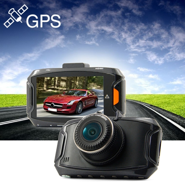 2.7 inch Dome GS90A DVR 1296P Super HD 5MP 170 Degree Wide Angle GPS Car DVR Recorder Dash Cam Support GPS Moudle