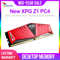 ADATA New XPG Z1 PC4 Ddr4 Ram 8GB 3200MHz 3000MHz 2666MHz DIMM Desktop Memory Support Motherboard Ddr4 Lifetime Warranty