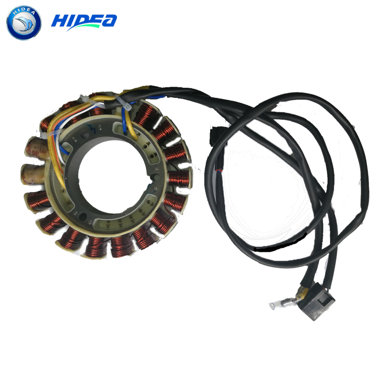 US $145 59 |Hidea Charging Coil Stator 4 Stroke 25HP For YMH 6BL 85510 10  00 Marine Outboard-in Boat Engine from Automobiles & Motorcycles on