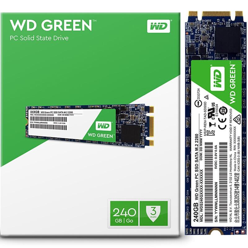 SSD WD M2 Green 240GB