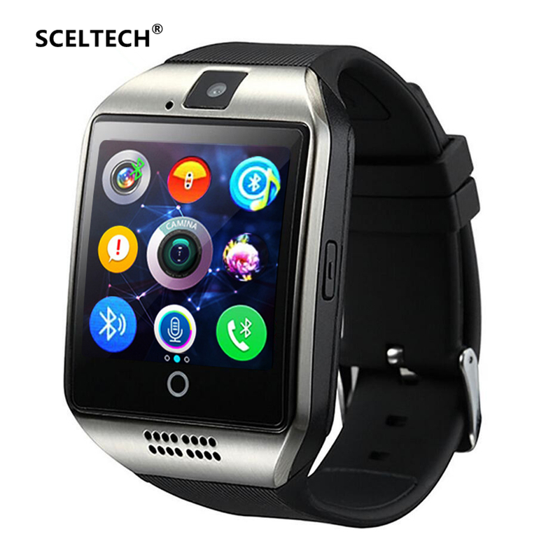 SCELTECH S1 Smart Watch Support Sim TF Card Phone Call Push Message Camera Bluetooth Connectivity For IOS Android Phone цены онлайн