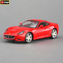Bburago 1:32 Ferrari California RAD High-imitation Car Model Die-casting Metal Toy Gift Simulated Alloy Collection