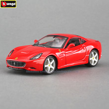 Bburago 1:32 Ferrari California RAD High-imitation Car Model Die-casting Metal Model Toy Gift Simulated Alloy Car Collection(China)