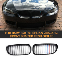 09 12 E90 ABS 3 Colors Grill Grille For Car Auto Front Grill For BMW Fit