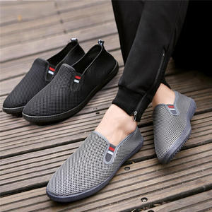 Shoes Men's Sneakers Mesh Lightweight Slip-On Breathable Big-Size Casual Zapatillas Hombre