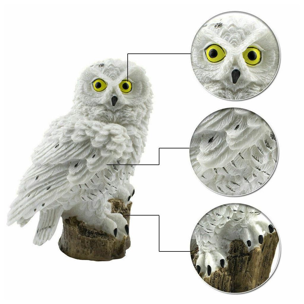 Solar Powered Waterproof Owl Garden Light