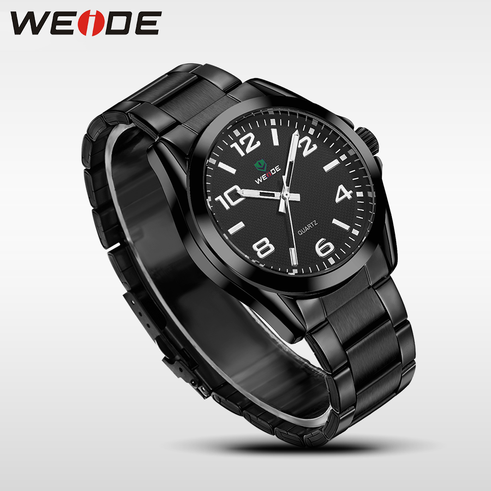 WEIDE Business Quartz Sports Wrist Watch Casual Genuine Hot Men Watches Top Brand Luxury Men Analog Watch Stainless Steel WH801 mike 8825 men s business casual analog quartz wrist watch golden silver