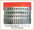 Goldsmith Tools Half Round Tungsten Carbide Drawplates Jewelers Drawplates Size 7.10-9.00mm 20 Holes