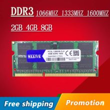 Sale 2gb 4gb 8gb DDR3 1066 1333 1600 1600mhz 1333mhz 1066mhz SO-DIMM DDR3L DDR3 4GB Memory Ram Memoria sdram For Laptop Notebook(China)