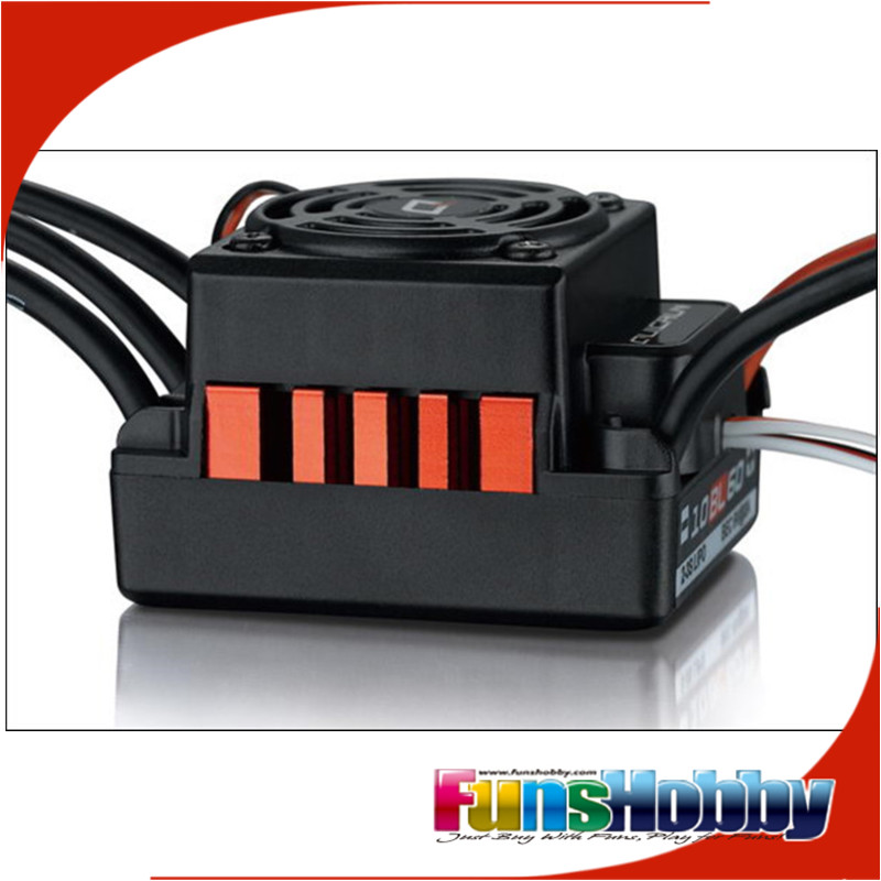 HobbyWing QuicRun WP 10BL60 Brushless Waterproof 60A ESC For 1/10 RC Car Buggy Truck Monster Truggy Rock Crawler RC4WD AXIAL
