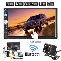 Vehemo 7 2din Car MP5 Player Touch Screen DC 12V Smart Car Electronics Automobile Audio Video With Camera Reversing Image