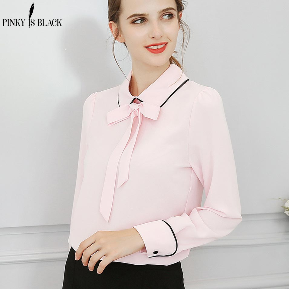 White Blouse With Black Bow Rldm