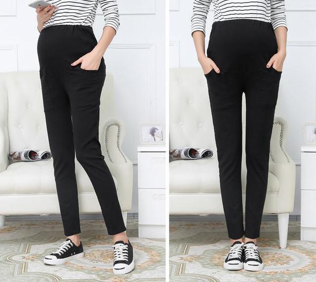 Maternity Pants&Capris Skinny pregnancy Pants Maternity trousers For Pregnant Women Pregnancy pregnant trousers 5 P/L